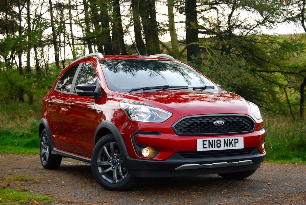 ford ka+ active red front side review roadtest