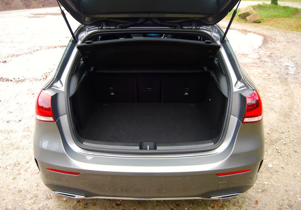 2019 mercedes benz a class review roadtest boot trunk