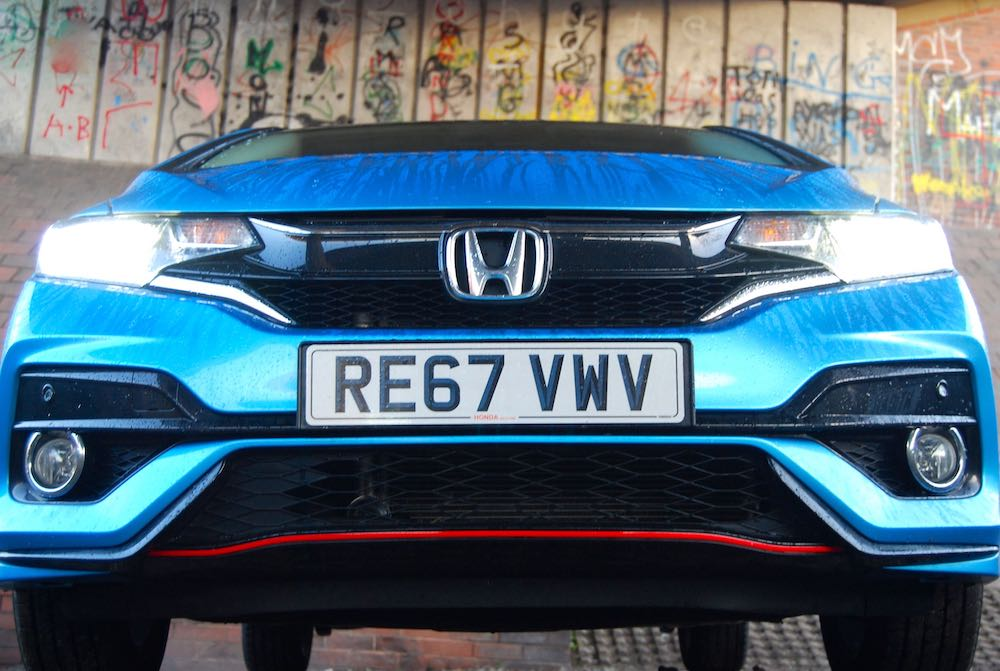 2019 honda jazz sport blue front review road test