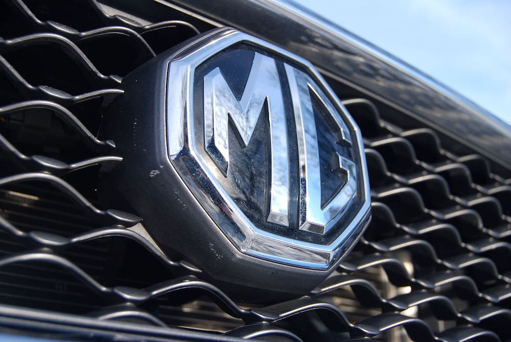 new 2018 mg3 grille badge review roadtest