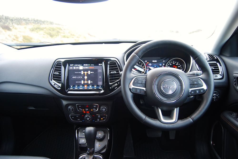 2019 jeep compass interior review roadtest