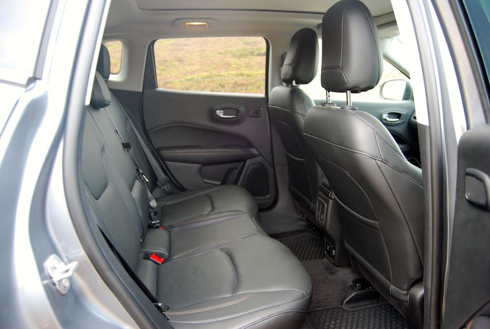 2019 jeep compass rear seats review roadtest