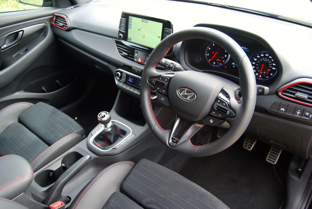 hyundai i30 fastback n interior cabin review roadtest