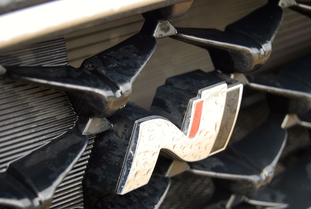 hyundai i30 n fastback grille badge review roadtest