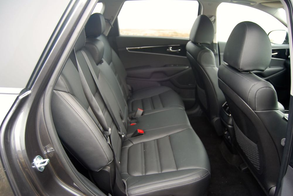 2019 kia sorento rear seats review roadtest