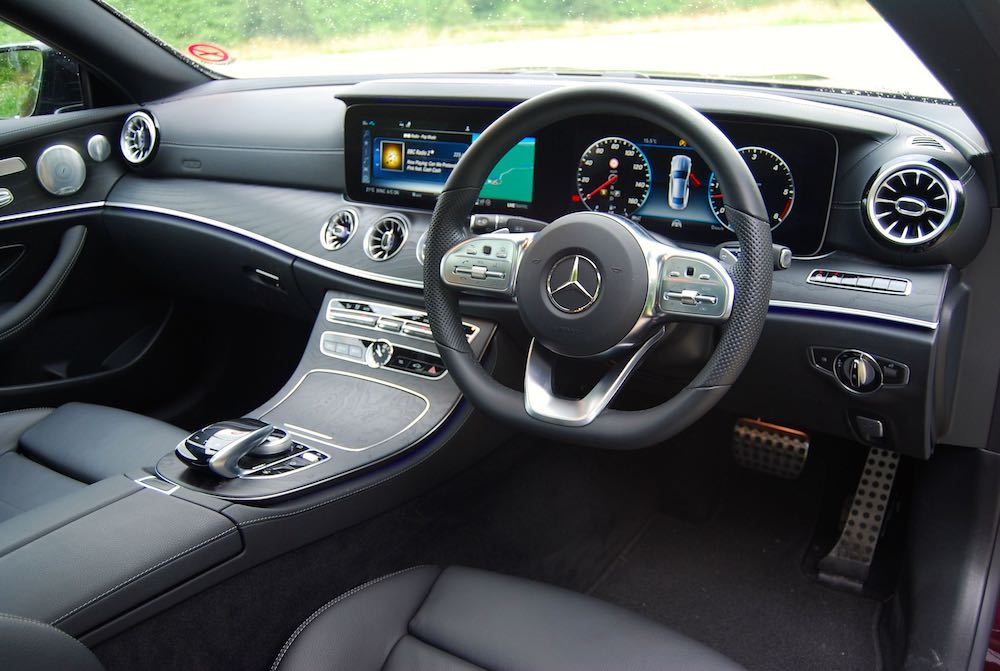 2019 mercedes benz e400d coupe interior review roadtest