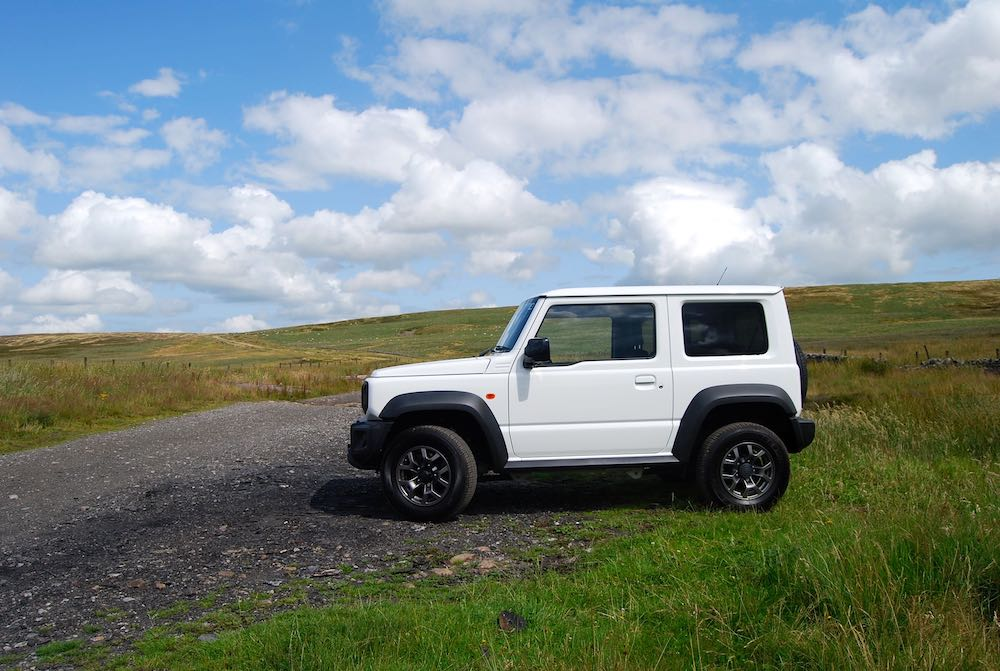 2019 suzuki jimny white side off road review roadtest