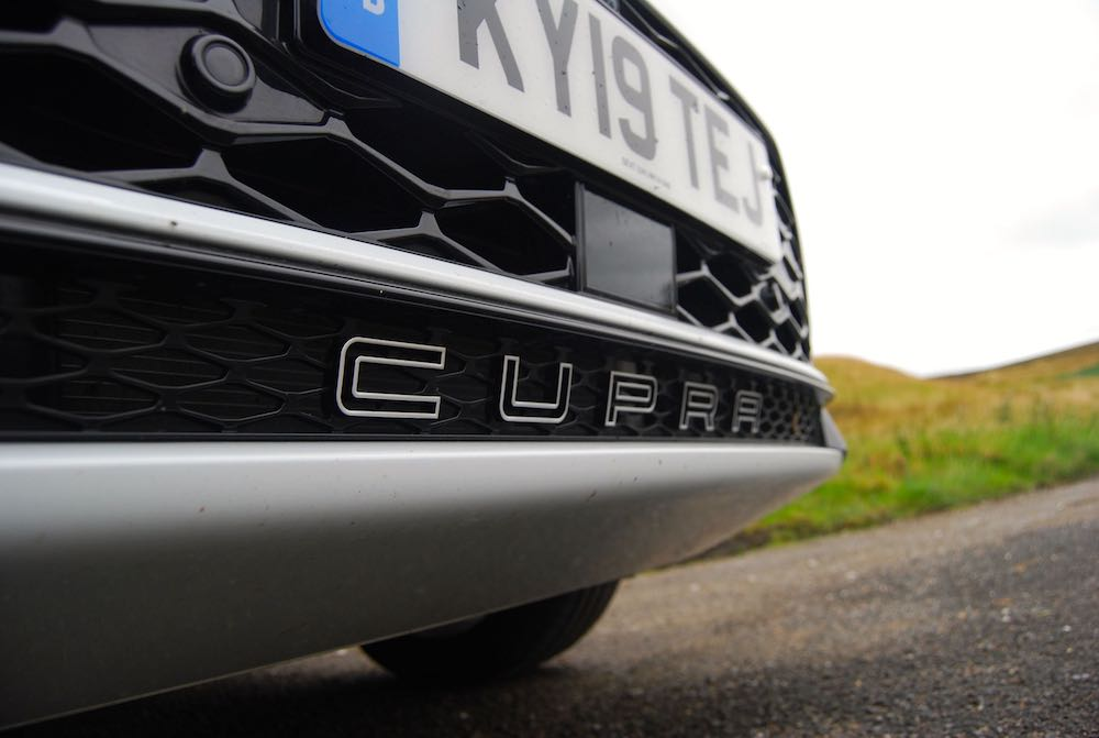 2019 cupra ateca front grille badge review roadtest