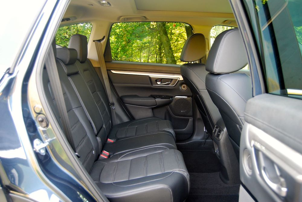 2019 honda cr-v rear seats review roadtest