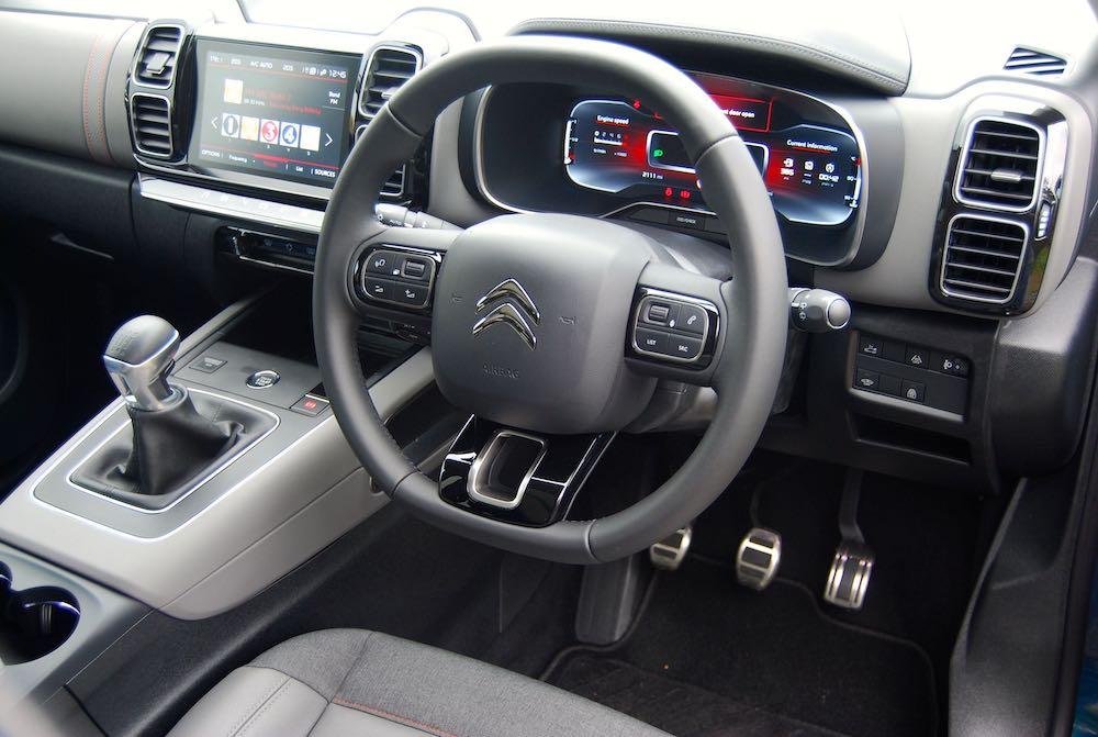 2019 citroen c5 aircross interior cabin review roadtest