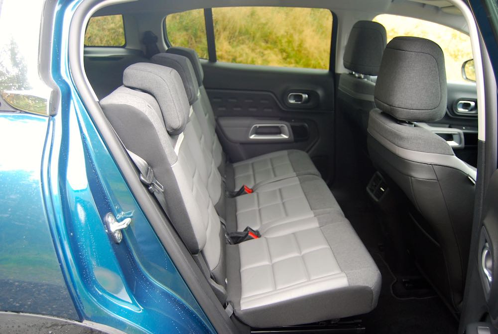 2019 citroen c5 aircross rear seats review roadtest