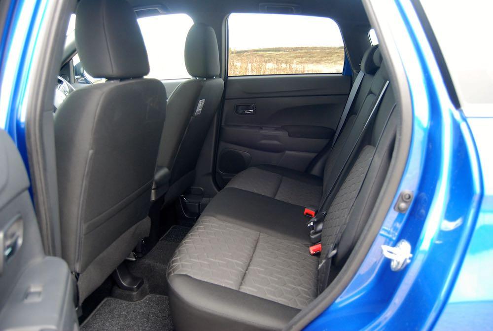 2019 mitsubishi asx rear seats review roadtest