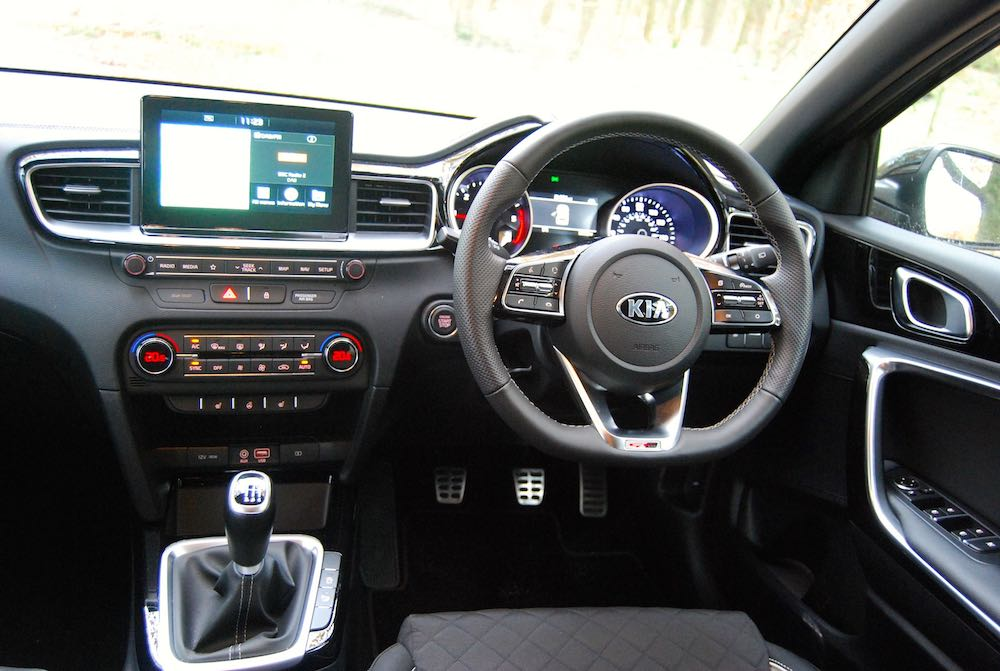 2019 kia ceed gt line cabin interior dashboard review roadtest