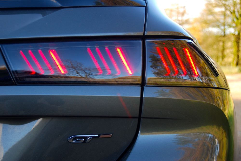 2019 peugeot 508 sw gt claw led rear light review roadtest
