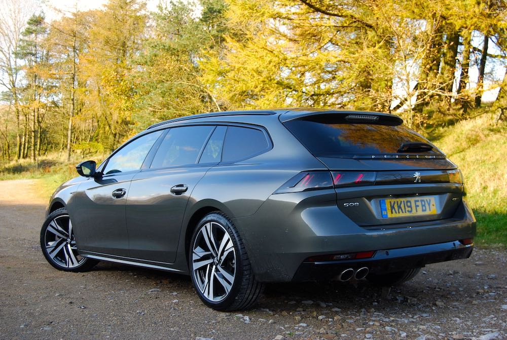 2019 peugeot 508 sw rear side review roadtest