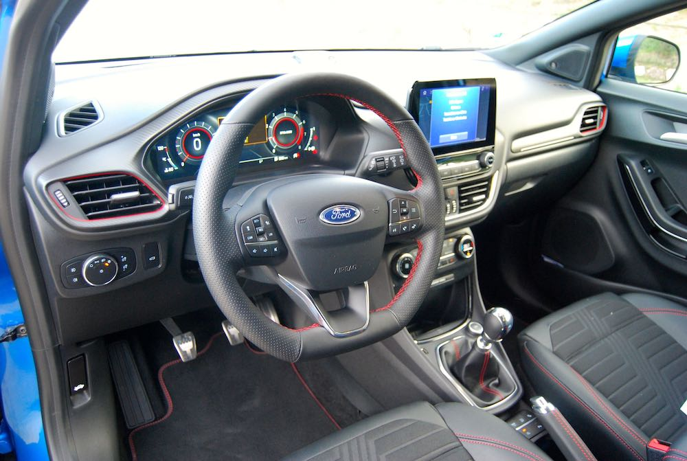 new 2020 ford puma cabin interior review roadtest