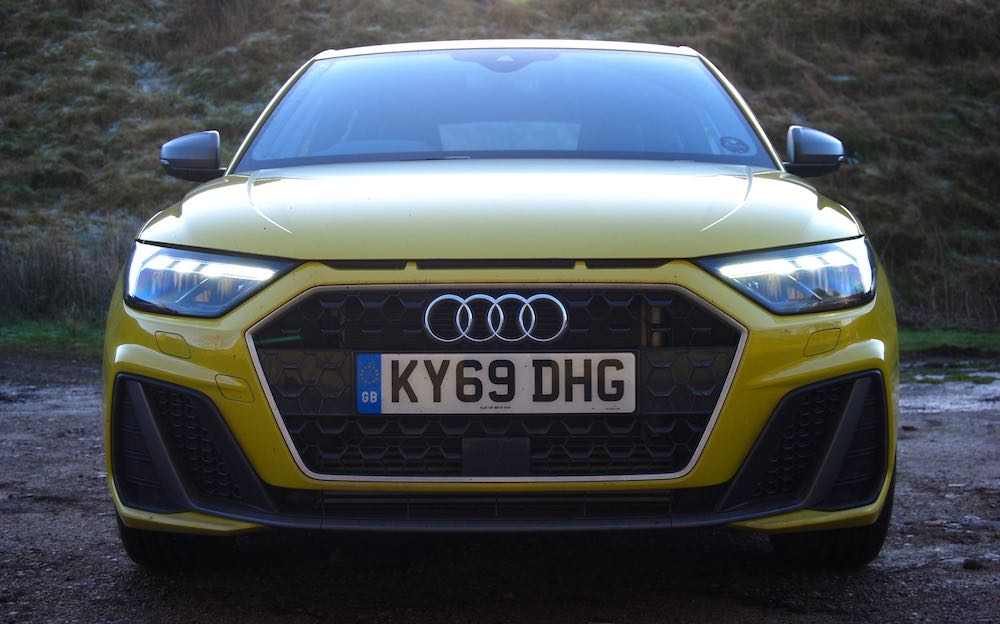 2020 audi a1 sportback yellow front review roadtest