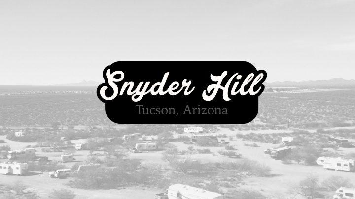 Snyder Hill BLM – Tucson, Arizona