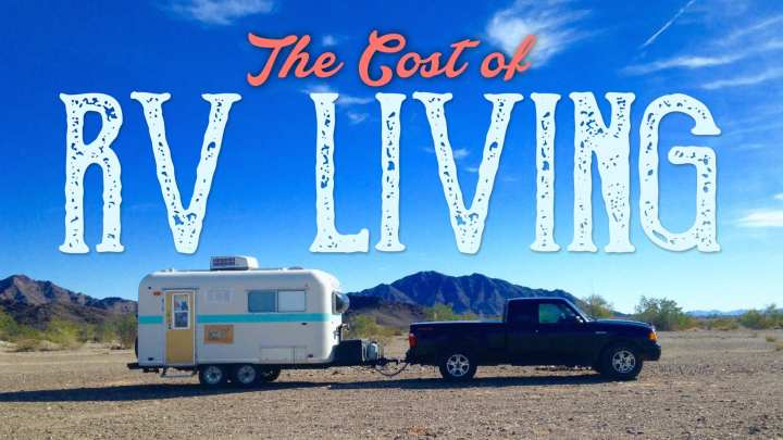The Cost of RV Living : Our February Expenses
