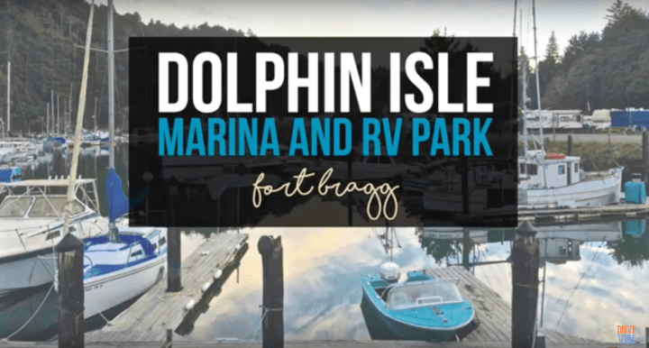 Dolphin Isle Marina & RV Park in Fort Bragg, California
