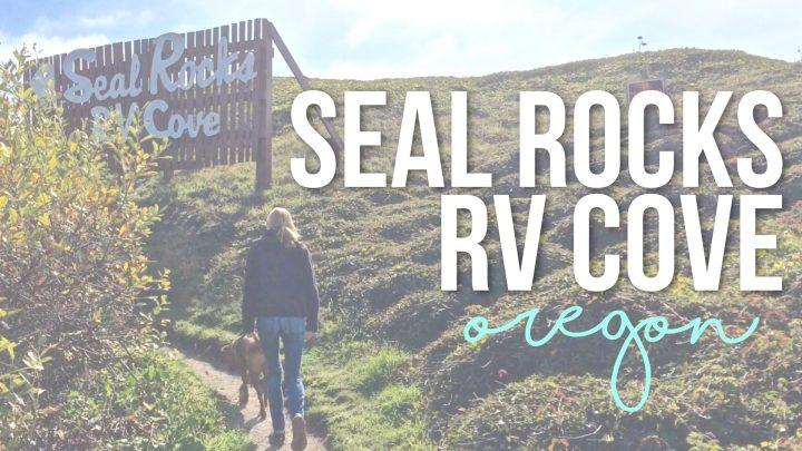 Seal Rocks RV Cove in Seal Rock, Oregon