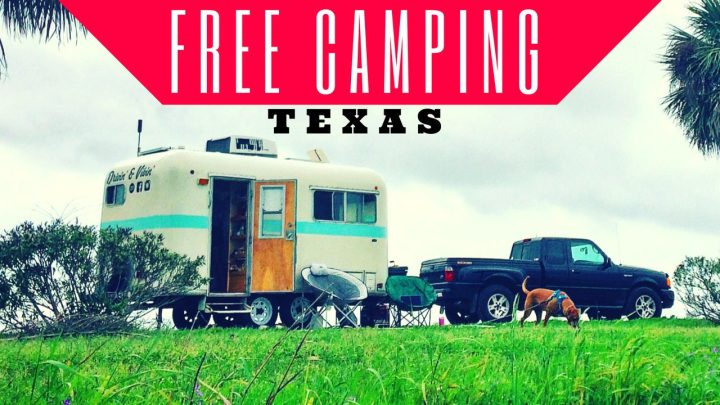 Free Camping in Texas / Fort Anahuac Park