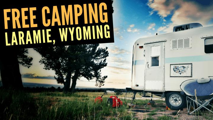 Free Camping in Laramie, Wyoming