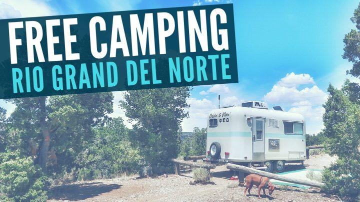 Free Camping at Rio Grande del Norte National Monument