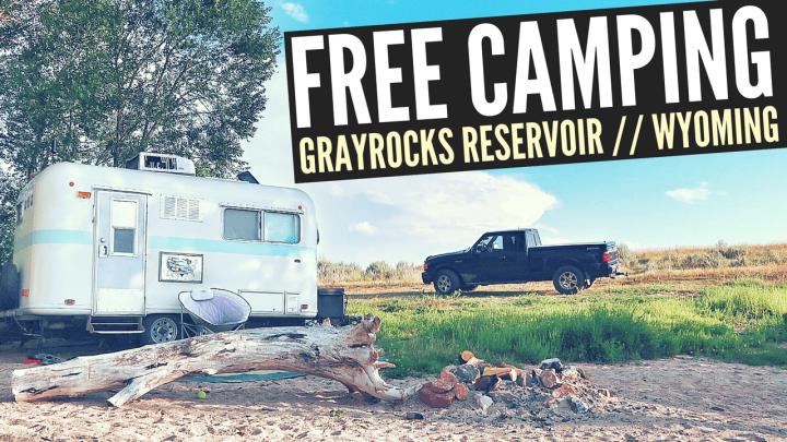 Free Camping at Grayrocks Reservoir in Wheatland, WY