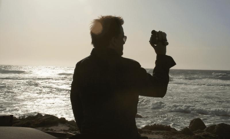 Big Sur Camping - Selfie