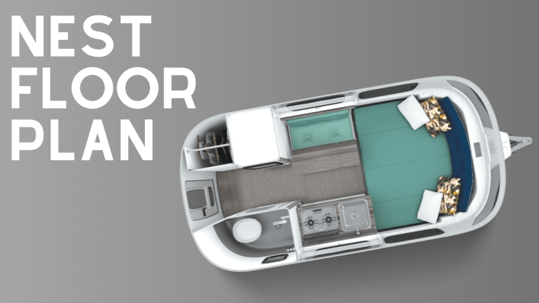 Airstream Nest Floor Plan