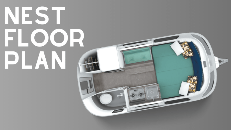 Airstream Nest Floor Plan