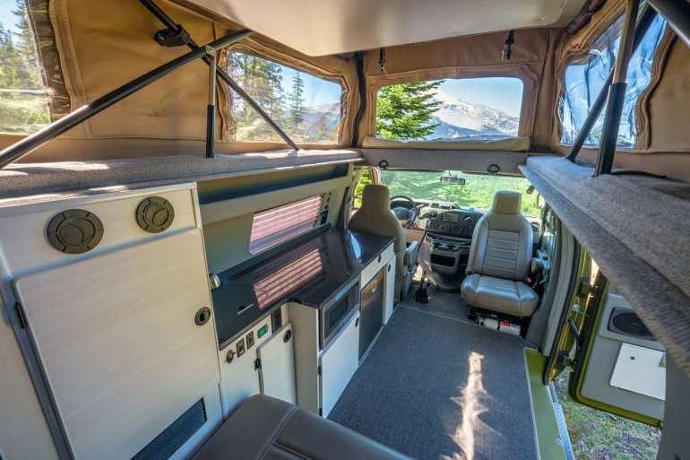 Sportsmobile Classic Interior