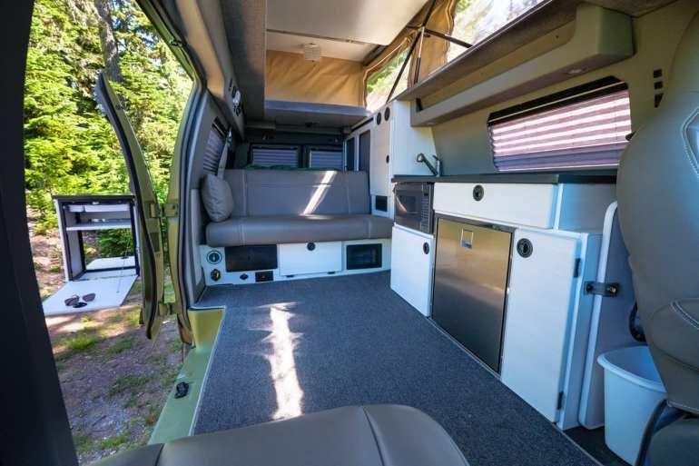 Sportsmobile Classic Interior Rear