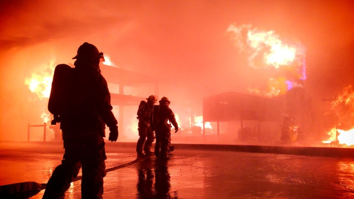 RV Fire Damages Nearby New-Car Dealership Inventory