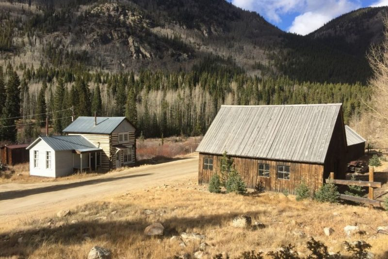 ghost towns in colorado - st elmo