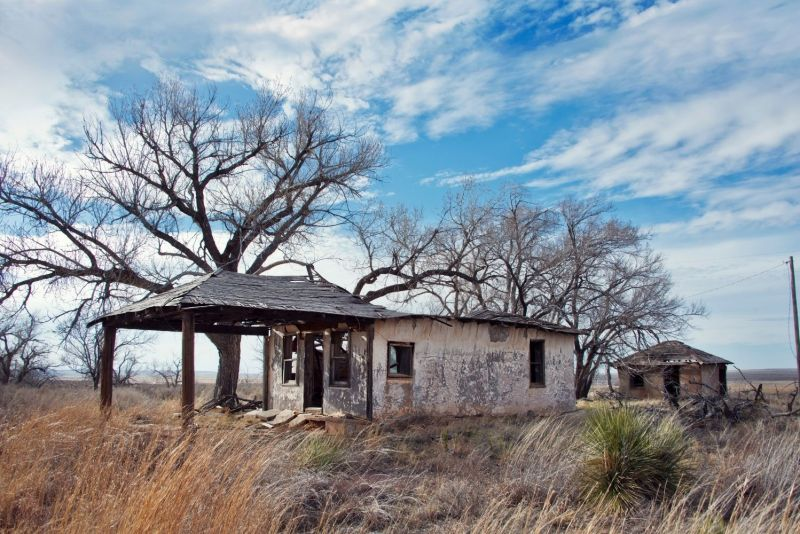 glenrio ghost town in texas