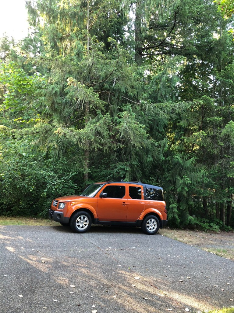 The Honda Element has the vibe of adventure and outdoor enthusiasm.
