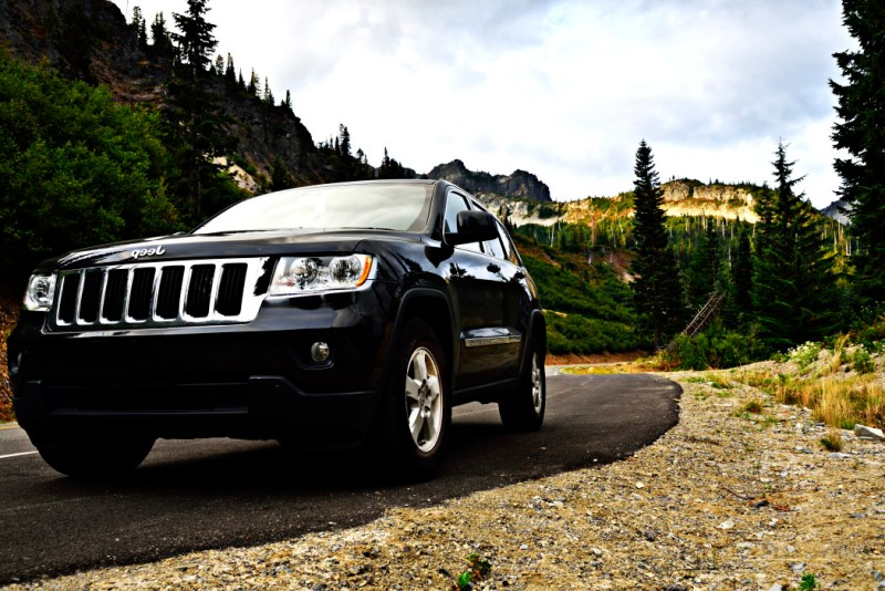 The Jeep Cherokee is an incredible off-road vehicle.
