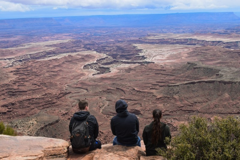 There are some fabulous places for free camping near Canyonlands National Park.