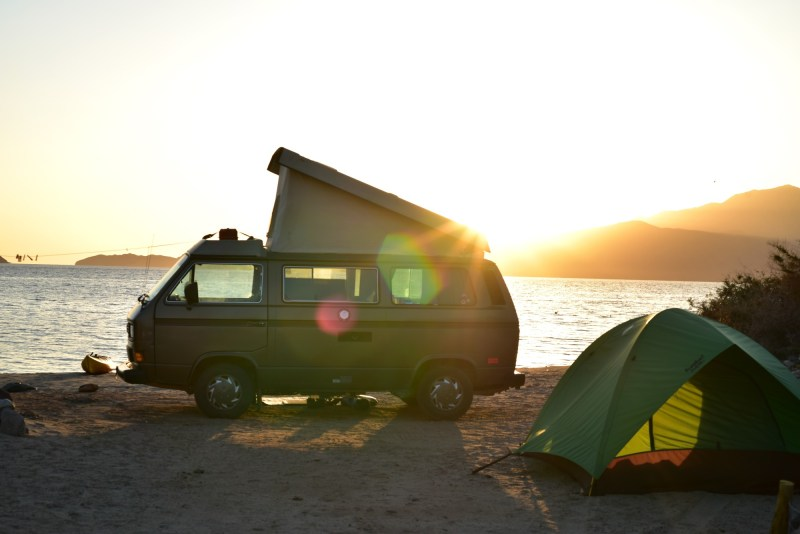 Rutherford beach boondocking and beach camping
