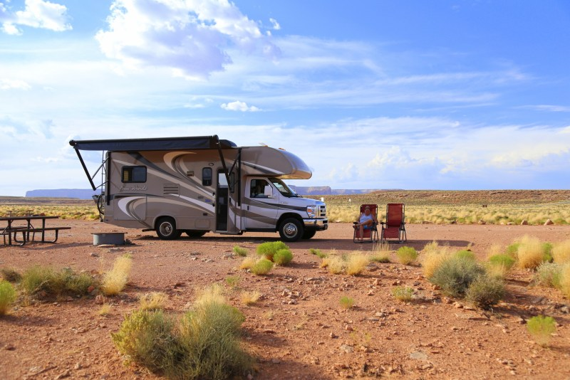 RV cheaper than renting. Purchase lot in RV community