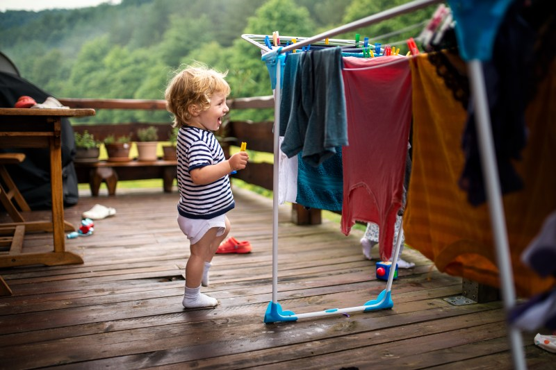 RV washer dryer combos. Don't hang clothes out to dry