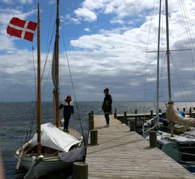 Sigurd Buch Kristensen og Brigitte Alfter ved Svalen af Ommel. Foto: Svend Aage Christensen