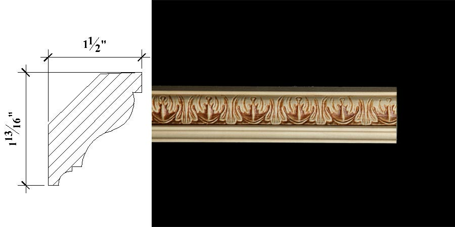 Inverted Crown Molding