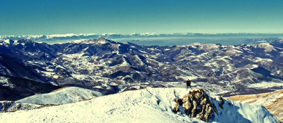 View from Brezovica mountains