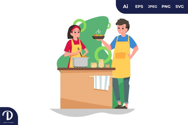 Cooking Couples with Different Activity