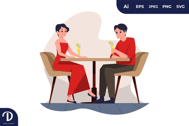 Preview image of Dinner Couples with Different Activity