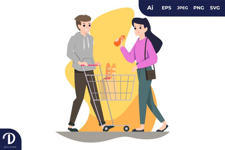Shopping Couples with Different Activity
