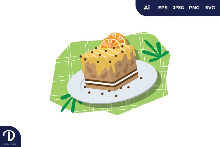 Preview image of Cake Illustration